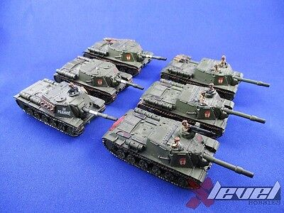 ISU-122 [Resin and Metal] [x6] Soviet – USSR [Flames of War] Painted