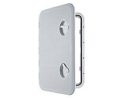"Access White Hatch & Lid 24""x 14"" - Marine Boat Caravan RV Storage Fast Ship New"