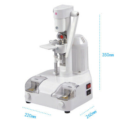 CP-24B Adjustable Optical Eyeglasses Lens Drilling And Groove Cutting Machine