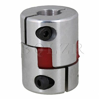 12.7 x 12.7mm D 30mm L 40mm CNC Plum Coupling Flexible Jaw Shaft Coupler