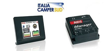 I-Manager 12V 150A Con Display Touch Sistema Di Gestione 2-3 Batterie