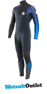 2017 Rip Curl E-Bomb Pro 3/2mm GBS Zip Free Wetsuit BLUE WSM6RE