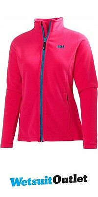 2016 Helly Hansen Ladies Daybreaker Fleece Jacket Magenta / Turquoise 51599