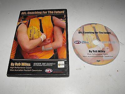 """AFL Coaching For The Future By Rob Wiley WAFC 2009  Great """"DVD"""" """"Hard To Find"""""""