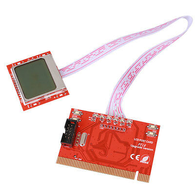Laptop PCI Computer Motherboard Diagnostic Tester Analyzer Post Digit Red