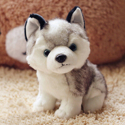 Plush Doll Soft Toy Stuffed Animal Cute Husky Dog Baby Kids Toys Gift 18/22/28cm