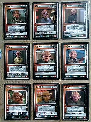 Star Trek CCG Rules of Acquisition Complete Set