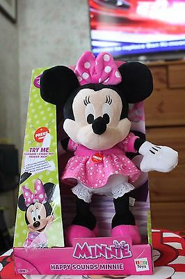 Brand new Disney Minnie Mouse Happy Sounds Interactive Kids Toys -18+ Months