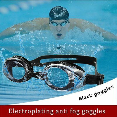 Waterproof Chrome Plated Swimming Mariner Goggles Anti Fog UV Glasses Adults BY