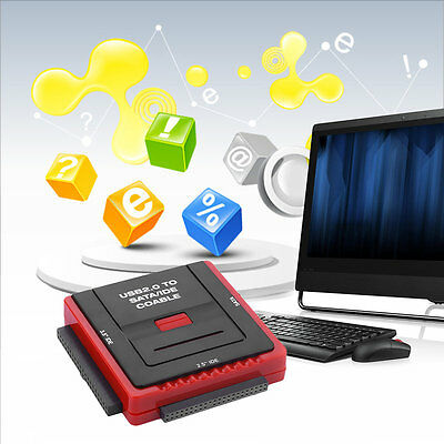 Square Multi Function USB 2.0 2.5/3.5 Inch SATA IDE CD-Rom HDD Dock Station BY