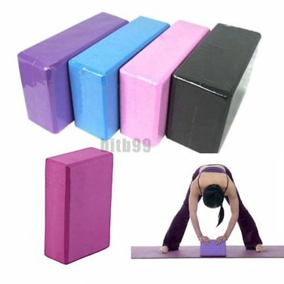 Yoga BYock Brick Foaming Foam Home Exercise Practice Fitness Sport Tool New BY