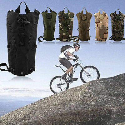Digital Desert Camo Outdoor Sports Backpack Hydration Bicycle Water Bag 5L BY