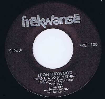 """Leon Haywood / Dr. Dre – Freaky To You / Nuthin' But A """"G"""" Thang – 7-inch Record"""