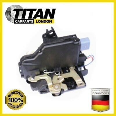 Vw Polo 9N Caddy Iii Door Lock Mechanism Front Right Uk Driver Side 3B2837016R