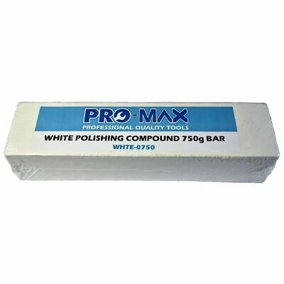 Pro-Max 750g Bar White Steel & Stainless Steel Metal Polishing Buffing Compound
