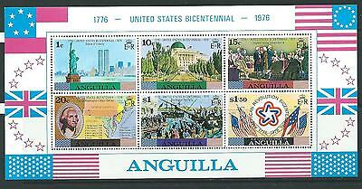 Anguilla Sgms215 1976 Bicent Of American Revolution Mnh