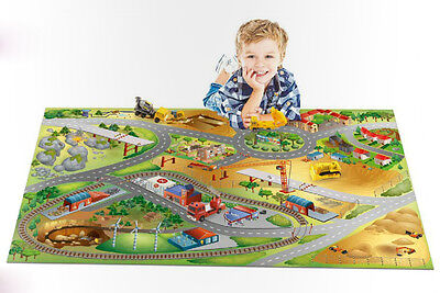 House of Kids 11230-E2 Spielteppich - Building City NEU & OVP