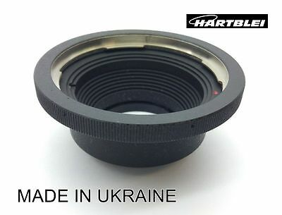 Hasselblad V Lens to Zenit / M42 Mount Camera Adapter - Hartblei