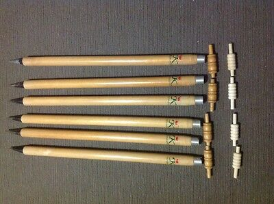 Set of 6 Quality Wickets With Bails