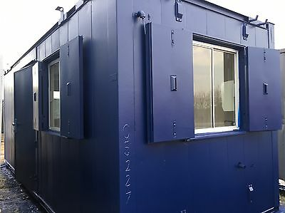 20ft x 8ft  Anti Vandal Site Office/Portable Building/Canteen Container