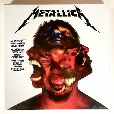 Metallica - Hardwired: The Deluxe Box Set - Brand New & Factory Sealed