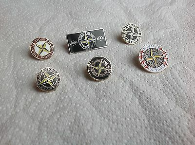 Casuals stone type pin badge (choose you style)England on tour available