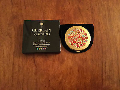 Guerlain Les Meteorites Voyage - Rechargeable Compact Powder - 01 Mythic - New