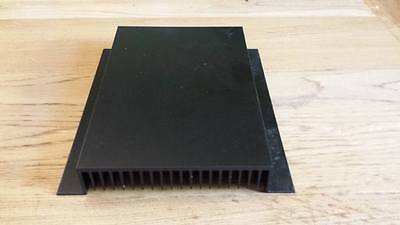 Heat Sink Large 190AB black alu 200mm section 175mm 30mm profile
