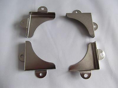 Mirror corners mounting brackets  32mmx32mm pack of 24.