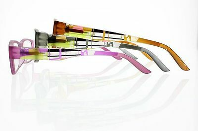 New 3 Colors Spring Hinges Geometry Design Reading Glasses Readers +1.0~+4.0