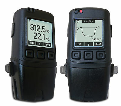 Labfacility EL-GFX-DTC Dual Channel Thermocouple Data Logger with Graphic Screen