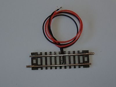 N Gauge Peco ST-2 soldered power input track.