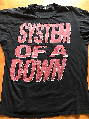 System Of A Down T Shirt Xl