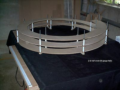 Model Railway Double Track  Helix (for 00 and N gauge)