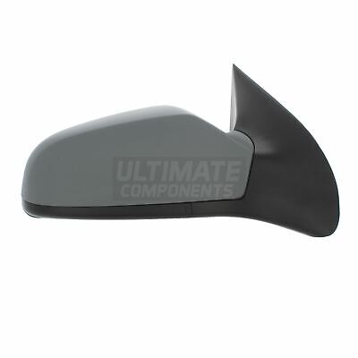 Vauxhall Astra H Mk5 3 Door 5/2004-2009 Electric Wing Mirror Primed Drivers Side
