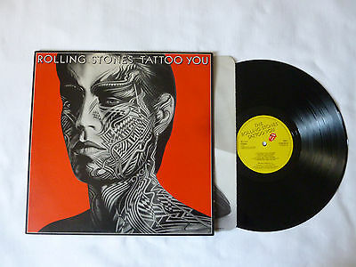THE ROLLING STONES ~ TATTOO YOU ~ NrM/EX ~ '81 UK 1ST PRESS VINYL LP ~ TOP AUDIO