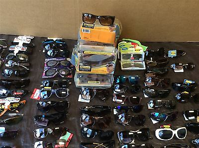 Wholesale Lot of Brand New Sunglasses, Mixed Styles and Sizes Approx. 50 Pcs
