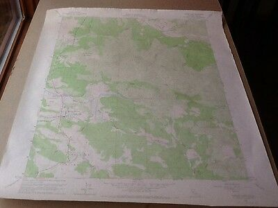 "1958 Dept Of Interior Topo Map Lot #139, Lower Lakes, Calif., 22"" X 27""."