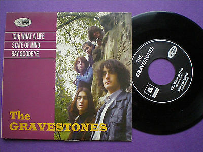 THE GRAVESTONES ¡Oh! What A Life SPAIN EP ANIMAL RDS 1995 Neo GARAGE Mod
