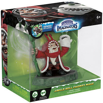 Skylanders Imaginators Sensei Jingle Bell Chompy Mage Limited Character Figure