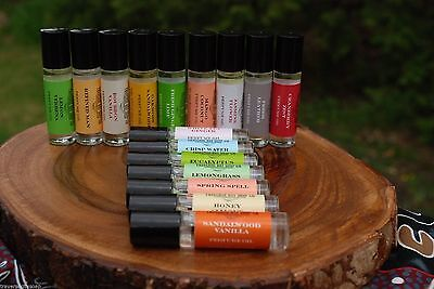Perfume Oil and Essential Oil Blends, Aromatherapy, you pick (3)