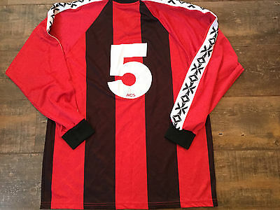 1999 2001 Crusaders L/s Adults XL Football Shirt Top Belfast Ireland