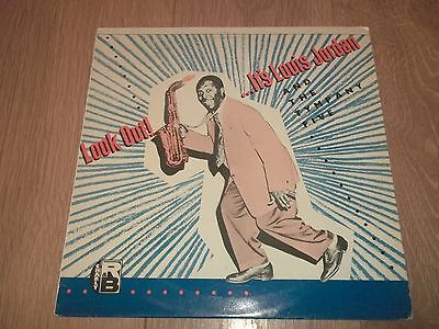 """Louis Jordan And The Tympany Five """" Look Out! """" Vinyl Lp Vg+/vg+ Crb 1048"""