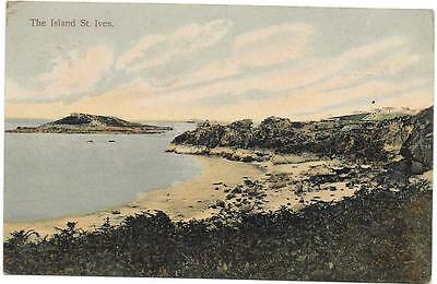 164 Pc   The Island  St Ives Posted 1908