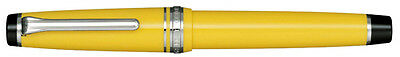 Sailor Professional Gear Yellow ST 21K Gold Plating Medium Point Fountain Pen
