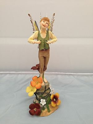 BNIB New Boxed The Fairy Way THISTLEFOOT #34013 Collectible World Studios
