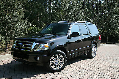 2013 Ford Expedition Limited Sport Utility 4-Door 2013 Ford Expedition Limited 5.4L 20' Wheels Kodiak Brown Black Leather Navi