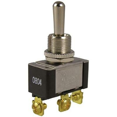Heavy-Duty Toggle Switch, 20A 125Vac, Single Pole Double Throw, (On)-Off-(On)