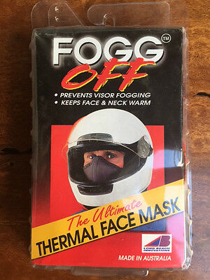 FOGG OFF THERMAL FACE MAsk