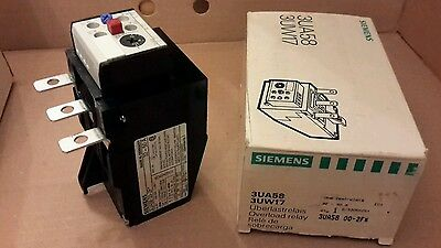 Siemens 3UA58 Contactor Overload Relay 32-50A 3TF